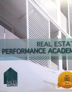 Real Estate Performance Academy - 6th edition. Hard Copy delivered