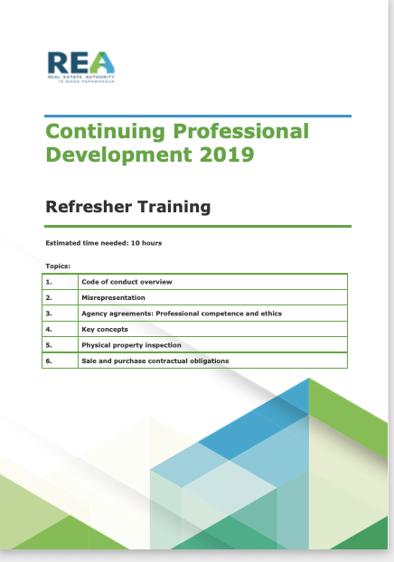 REA REFRESHER COURSE